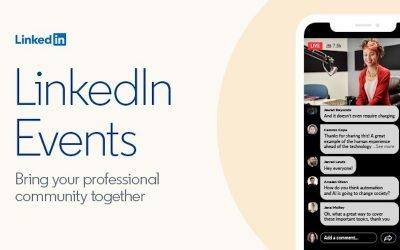 LinkedIn Events terug van weggeweest