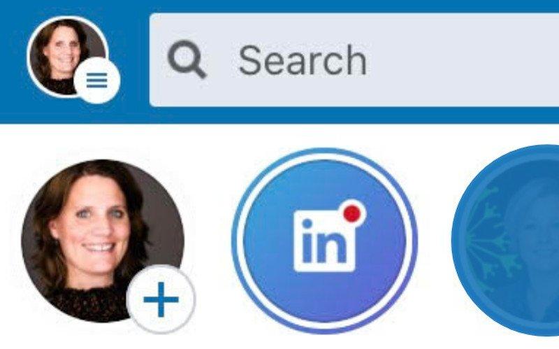 Nu ook op LinkedIn: Stories!