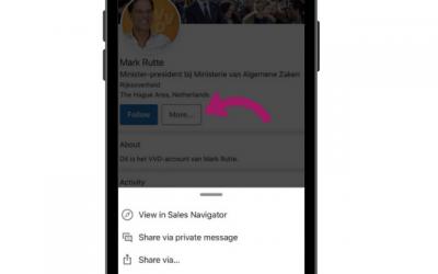 Wel of geen persoonlijk berichtje bij een LinkedIn uitnodiging?